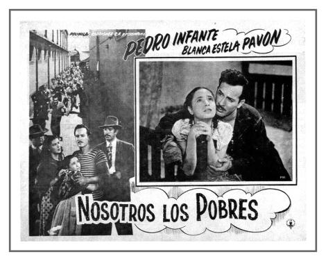 "Estampa del ""cine de oro"" mexicano (Foto: cineforever.com)."