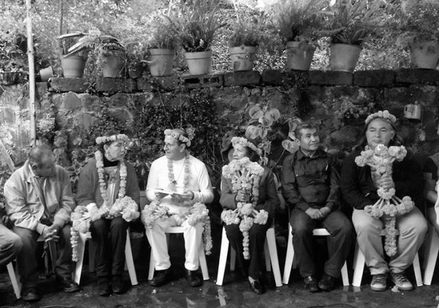 Compartiendo experiencias en Pahuatlán. (Foto: Dalia Argüello.)