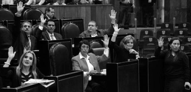 Diputados oscurantistas. (Foto del Congreso de Veracruz.)