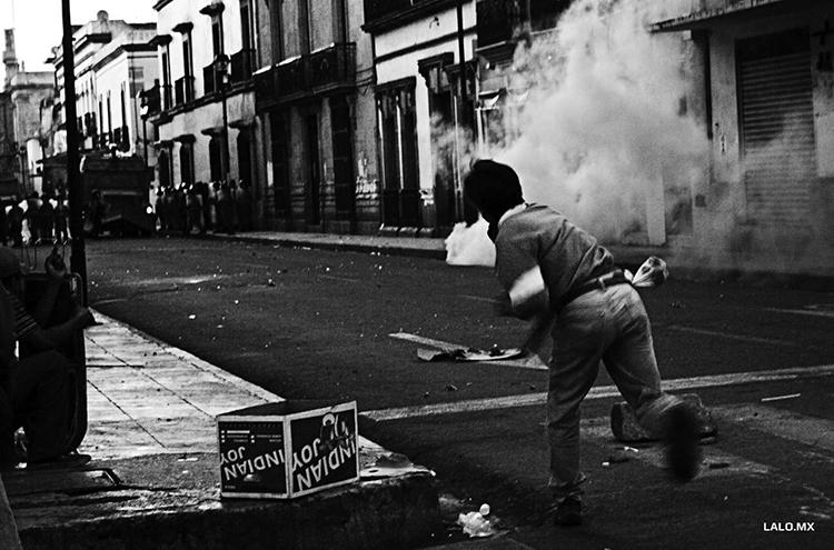 Oaxaca en 2006. (Foto.: Lalo Vidals.)
