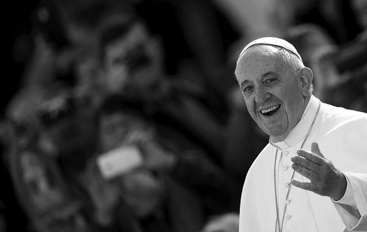 El papa. (Foto. EFE.)