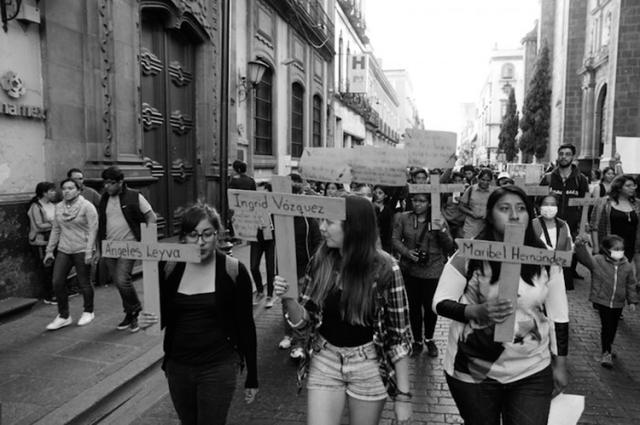 Mujeres poblanas. (Foto: Foto: Luis Barrón, SinEmbargo.)