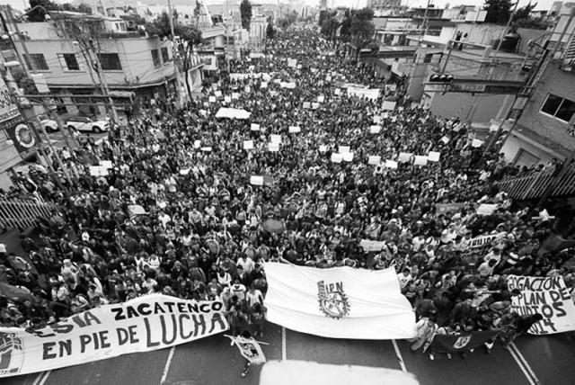 Movilización politécnica. (Foto: El Universal.)
