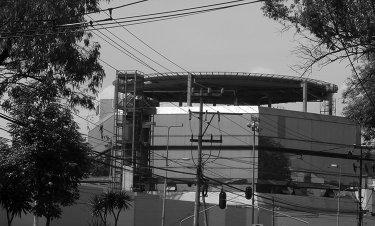 El helipuerto de avenida Universidad. (Foto: Bernardo Ibarrola.)