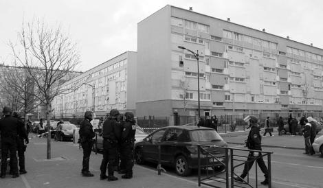 La policía Bondy en 2013. (Foto: PhotoPQR-Le Parisien.)