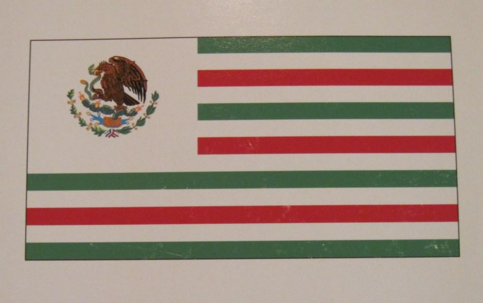 Mexican-American Flag (Fuente: latina-voices.com).