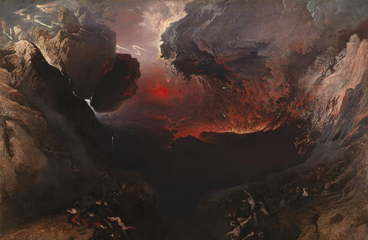 John Martin, The Great Day of His Wrath (1851-1853). Tate.