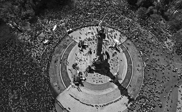 Monumento a la indpendencia. (Foto: Christian Palma, AP.)
